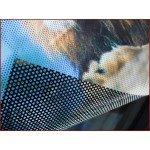 Perforated Window Film / See Through Vinyl